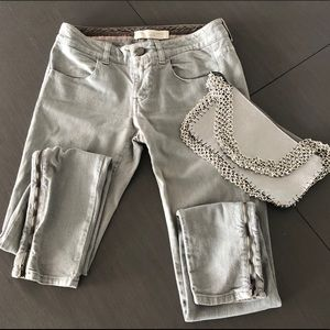Stella McCartney grey jeans